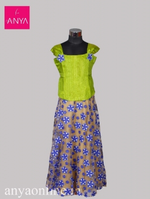 9e514fb8e5 Clothing and Apparel : Kids Pattu Pavadai Coimbatore - Anyaonline.in